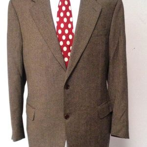 CANALI CASHMERE MEN SPORT JACKET 44R MADE IN ITALY